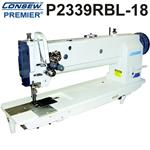Consew P2339RBL-18 18 Inch LONG ARM / TWO NEEDLES Drop Feed Needle Feed  Walking Foot Industrial Sewing Machine