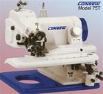CONSEW 75T ALL-PURPOSE PORTABLE SINGLE THREAD CHAINSTITCH BLINDSTITCH MACHINE
